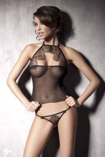 mysterious ensemble sexy Anaïs lingerie du LoveShop belge en ligne