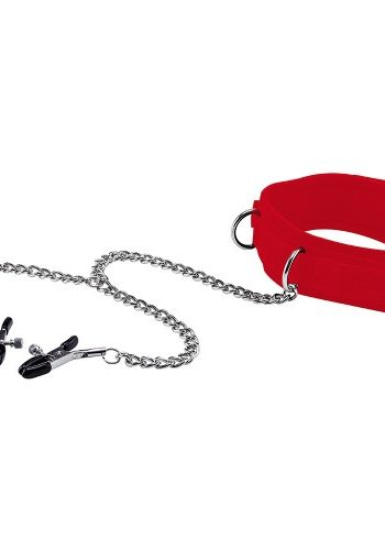 ouch-velcro-collar-with-nipple-clamps-red (1)
