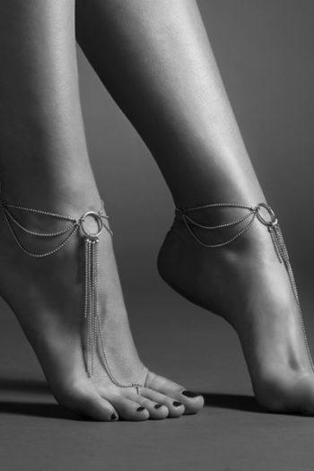 chaine métal bijou pieds femme boutique belge bijoux indiscrets