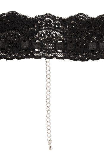 Collier en dentelle noire par Cottelli