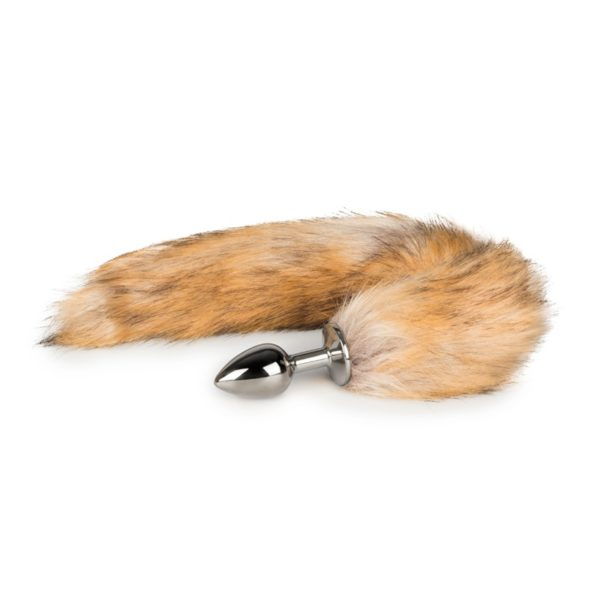 Fox Tail Plug No. 1 - Silver