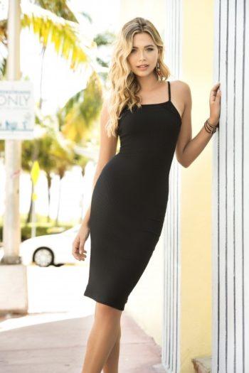 robe-noire-sensuelle-4606-boutique belgique-mapale