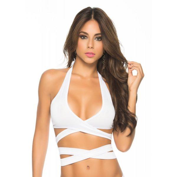 top blanc sexy