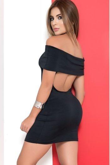 robe-courte-noire-bustier-avec-revers-epaules-nues-dos-ouvert (2)