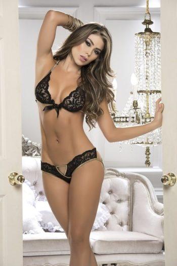ensemble-2-pieces-noir lingerie boutique belgique