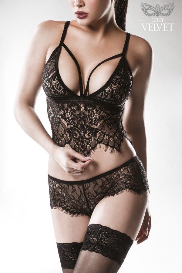 tenue sexy dentelle grey velvet boutique lingerie belgique