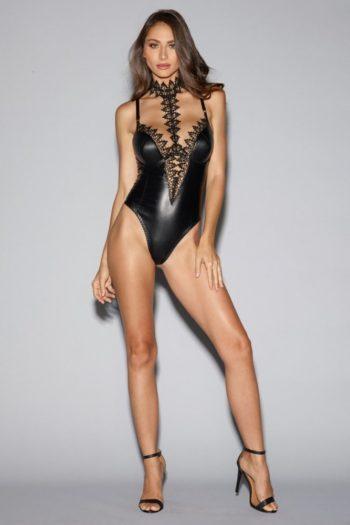 body-string-noir-simili-cuir-decollete-avec-dentelle-de-venise (2)