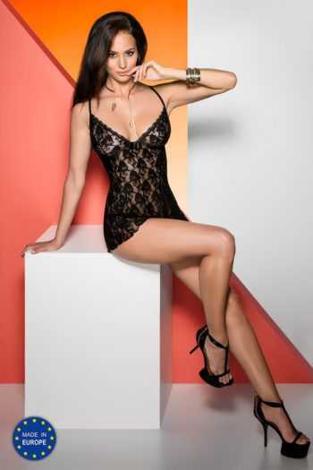 Chemise de nuit sexy Avanua boutique belgique lingerie charme mode pour femme