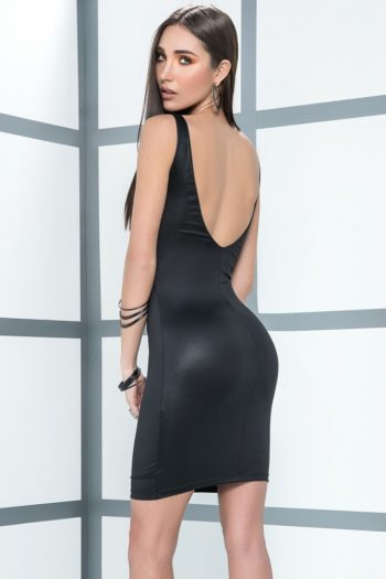 robe-sexy-noire-style-wtlook-effet-humide (1)