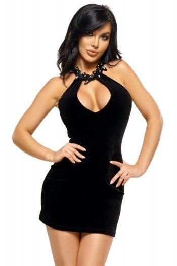 solange-robe-noir-beauty-night boutique mode belgique