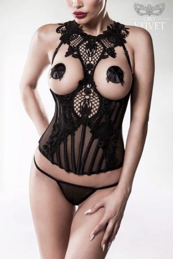 lingerie grey velvet boutique luxe charme sexe belgique