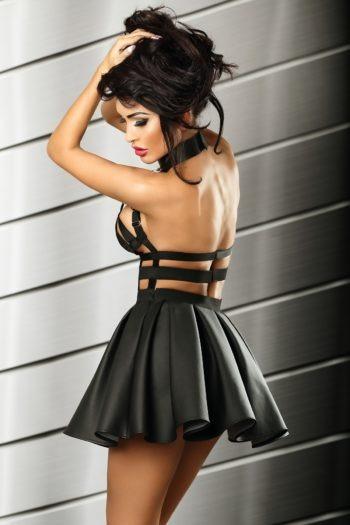 robe noire sexy lolitta boutique mode belgique