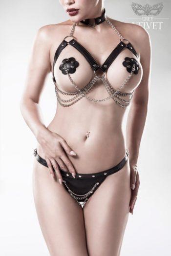 harnais sexy bdsm lingerie coquine belgique