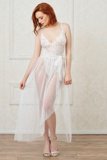 body-string-blanc-echancre-dentelle-avec-jupe-de-maille-transparente-amovible