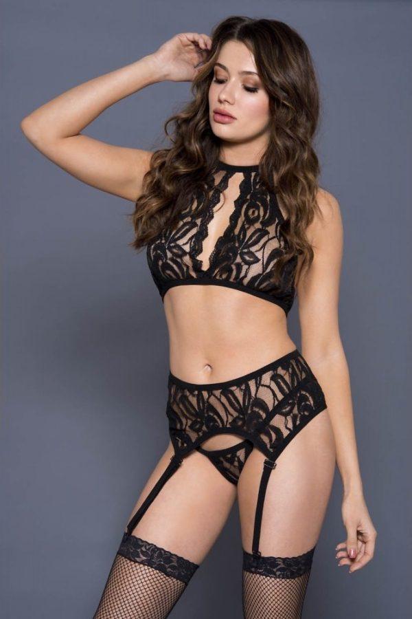 ensemble-3-pieces-ml20046blk sexy lingerie belgique
