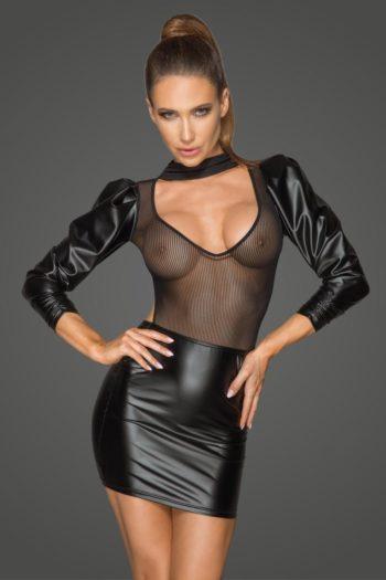 robe noire de luxe boutique mode haut de gamme belgique noir handmade piment plume
